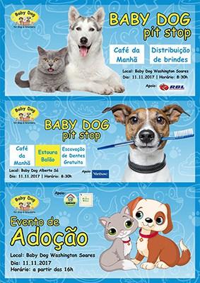 Programação especial da Baby Dog