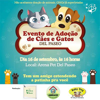 Evento de Adoção de Animais em Fortaleza