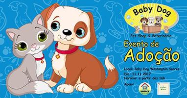 Evento de Adoção de Animais em Fortaleza, na Baby Dog da Washington Soares