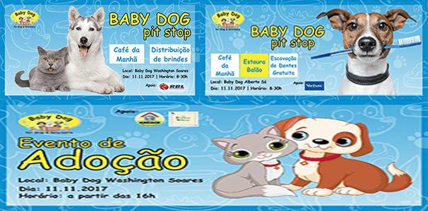 Programação Especial Baby Dog